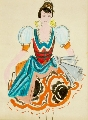 "Costume sketch for ballet ""Don Quixote"""