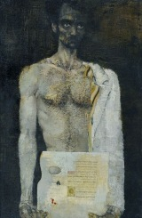 "Painting - J. Pauluks "" Self-portrait"" 75 000 EUR"