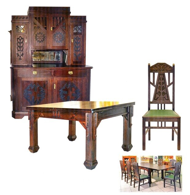 J. Madernieks - Dining set furniture - 12 000 €
