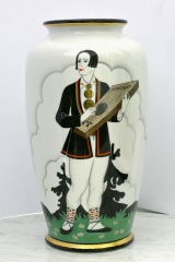 "Porcelain - S. Vidbergs ""Kokle player"" 18 000 EUR"